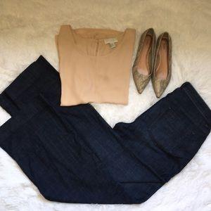 Flat Front GAP Wide Leg Jeans